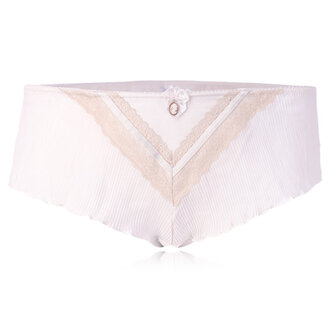 Women Luxury Chiffon Plus Size Sexy Ruffles Boyshorts Boxer Culotte Briefs Panties