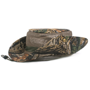 Men Camouflage Outdoor Sunshade Fishing Hat