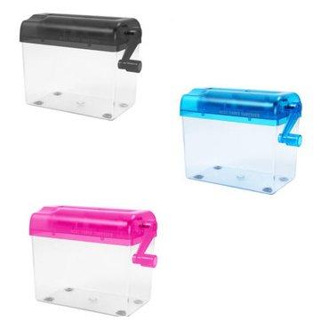 Mini El Parçalayıcı Taşınabilir Mekanik Kağıt Doldurma Fringer Aletler