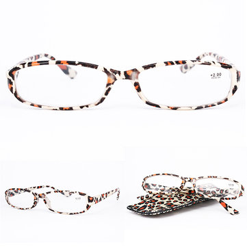 Lightweight Full Frame Floral Resin Reading Glasses Anti-Fatigue Computer Presbyopic Glasses