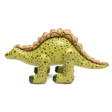 Inflatable Blow Up Dinosaur Stegosaurus 73*35cm Children Kids Party Swim Pool Beach Toy