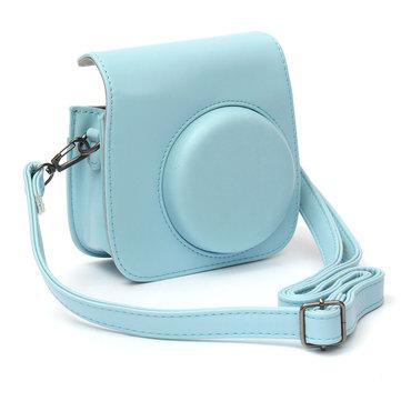 Candy Colorful PU Leather Case Bag Accessory For Polaroid Mini 8 Instant Camera