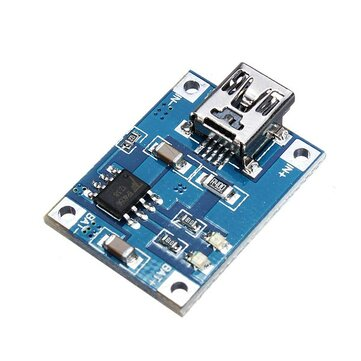 20Pcs Mini 1A Lithium Battery Charging Board Charger Module USB Interface