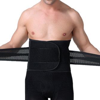 Mens Abdomen Belt Body Sculpting Thin Breathable Curl Girdling Fit Belt Waistband