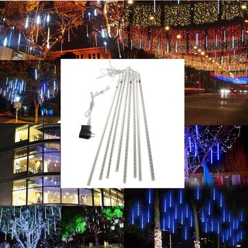 Waterproof 50cm 8 Tubes USB LED Meteor Shower Rain Xmas Light