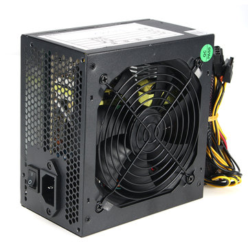 550W 120mm Fan ATX SATA PCI-E Power Supply for Intel AMD PC Unit