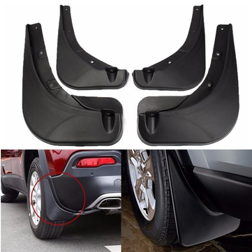 Front & Rear Mudguard Mud Flaps Deluxe Molded Splash Guard For Jeep Renegade 2015 2016 2017