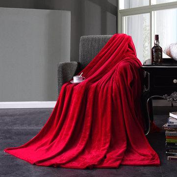 KCASA KC-FB1 ผ้าห่มนวมผ้านวมอุ่นผ้าห่มนุ่ม Super บนเตียง Home Plane Travel Coperta โยนสำหรับโซฟา