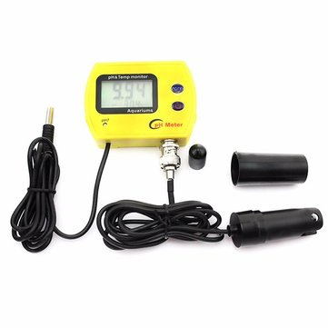 PH-991 Portable PH Meter Aquarium Swimming Pool Acidimeter Analyzer Water Quality pH &Temp Monitor