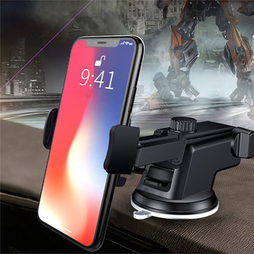 Universal Adjustable Long Arm Suction Cup Car Dashboard Windshield Holder Stand for Mobile Phone