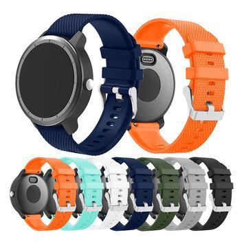 Corful Silicone 20mm Assista Banda Soft substituição de pulseira para Garmin Vivoactive3 Vivomove HR