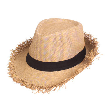 Men Summer Outdoor Breathable Lafite Jazz Straw Hat