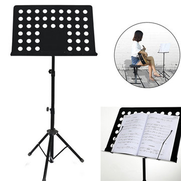 Metal Adjustable Music Stand Music Score Foldable Holder 80-165CM