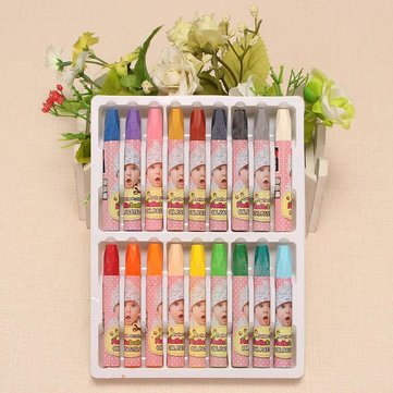 Genvana Oil Painting Sticks Set Crayons Oil Pastels 12/18/24/36 Colors Artistic
