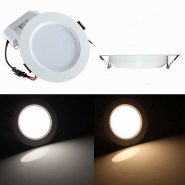 5W Round LED Recessed Ceiling Panel Down Light With Driver
