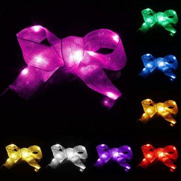 1M 10 LED Ribbon String Fairy Light Battery Powered Party Xmas Wedding Decoration Lamp