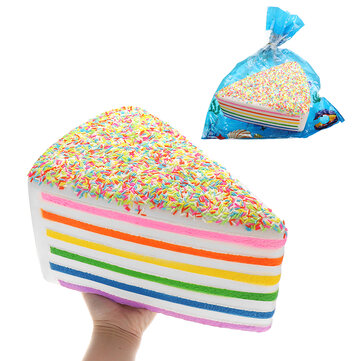 Huge Shortcake Squishy Jumbo 28*15*20CM Soft Slow Rising With Packaging Collection Gift Giant Toy