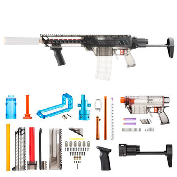 WORKER Imitation-R MCX Kit Lite Combo Kit For Nerf RETALIATOR Novelties Toys Clear Black