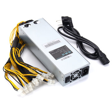 176-264V 1600W Mining Rig Mining Power Supply Mining Machine AntMiner APW3-12-1600 PSU