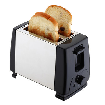 Electric Automatic 2 Slice Bread Toast Toaster Sandwich Maker Grill Machine