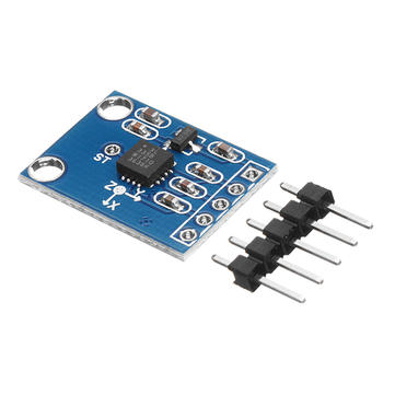 3pcs GY-61 ADXL335 3-5V Angle Sensor Module Tilt Angle Module X Y Z Triaxial Accelerometer Analog Output