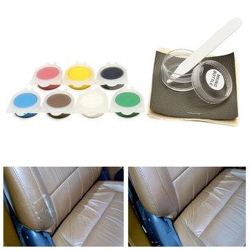 자동차좌석가죽수리도구의자 소파 비닐 스크래치 제거 7 색상에 사용할 수