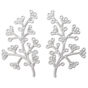 Cherry Tree Metal Cutting Dies Stencils Memory Scrapbook Album Paper Card Craft