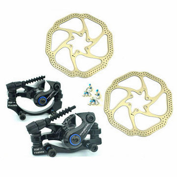RAMBOMIL Road Mountain Bike Bicycle Cycling Brake Disc Diecast Aluminum Brake Disc Brake Rotor Kit