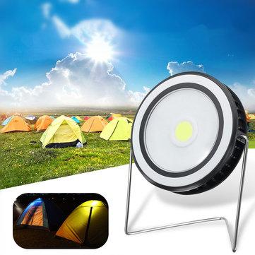 150LMCOBLEDСолнечнаяПанельМощность Light На открытом воздухе Водонепроницаемы Аварийный прожектор Лампа для Кемпинг Пеший туризм