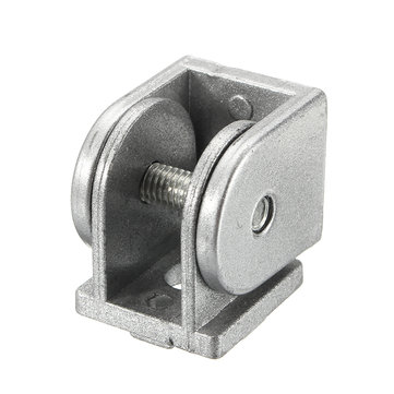 Suleve™ ZAH20 2Pcs Living Hinge 180° Furniture Angle Connector for 2020 Series Aluminum Profile
