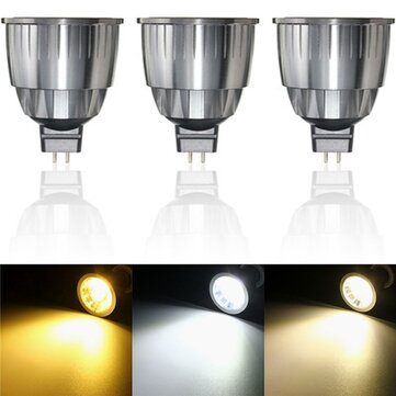 Ultra Bright LED 7W Pure White Warm White Natural White COB LED Spot Lightt Light Bulb DC12V