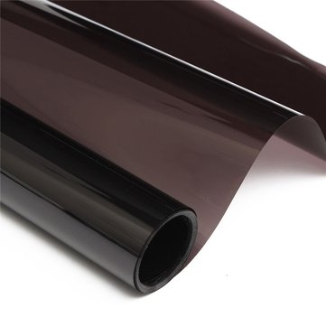 Dark Black Car Window Tint VLT 20% 6M x 50CM Film Tinting Solar Protection