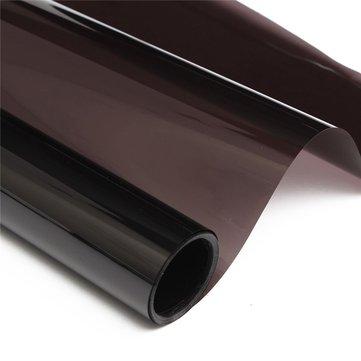 Dark Black Car Window Tint VLT 20% 6M x 50CM Film Tinting Solar Protection