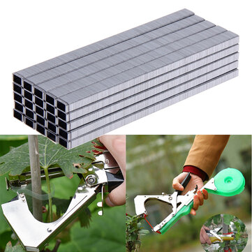 10000pcs/Set Tape Tool Binder Nail Tapener For Hand Tying Machine Tying Tapetool for Grafting Machine Garden Pruning Supplies