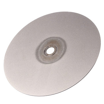 6 Inch 500 Grit Diamond Coated Flat Lap Wheel 150mm Lapidary Grinding Polishing Wheel