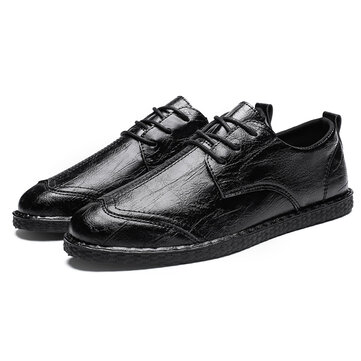 Men Dress Shoes Business Oxfords