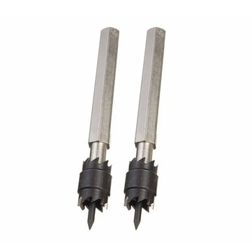 2PCS 3/8 Inch Double Sided Rotary Spot Weld Cutters Removes Cuts Welds Drill Bits