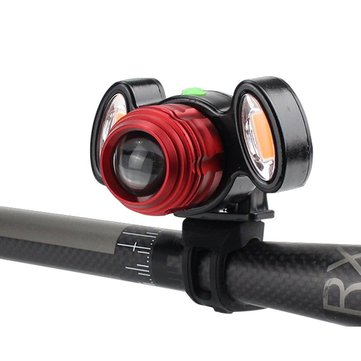 XANES ML04 800LM T6 Bicycle Warning Light Zoomable IPX6 Waterproof Bike Front Light 4 Modes USB Charging