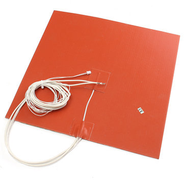 30X30CM 750W 220V Silicone Heater Bed Pad w/ Thermistor For 3D Printer