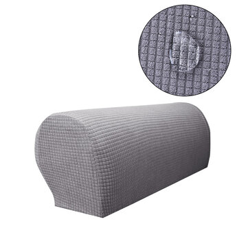 Sofa Armrest Covers Stretch Fabric Arm Protectors Chair Covers For Couches Armchairs Slipcover