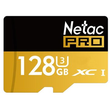 Netac Pro P500 128GB UHS-I U3 SDXC Storage Memory Card TF Card For Cell Phone