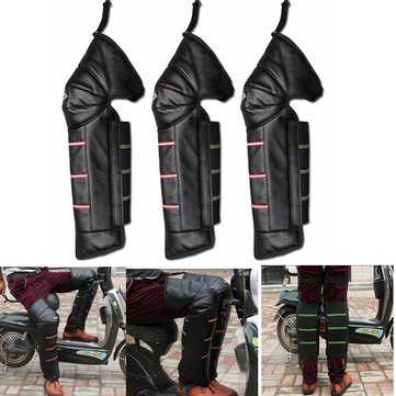 Motorcycle Scooter E-bike Winter Riding Warming Knee Pads Guards