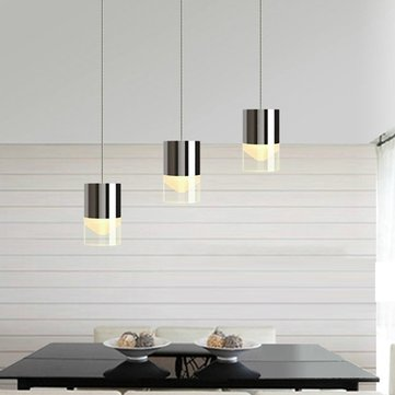 Modern Acrylic LED Chandelier Pendant Lamp Ceiling Light for Bar Living Room Decor AC220V