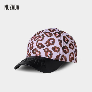 Men Embroidered Leopard Outoor Sunsreen Baseball Cap
