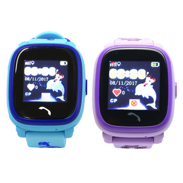 Waterproof Kid Smart Watch Touch Phone Call Kids Location Tracker Bracelet
