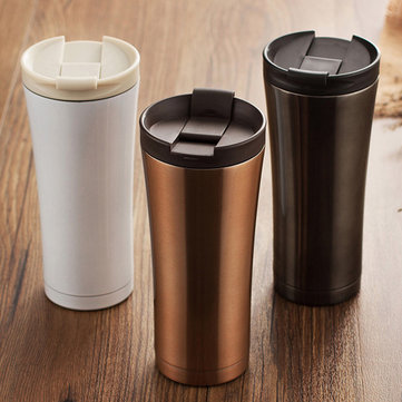 KCASA KC-IC03 Car Stainless Steel Vacuum Flasks Coffee Thermos Mug Travel Bottle Insulation Cup
