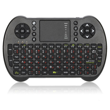 2.4G Wireless Russian English Version Mini Keyboard Touchpad Air Mouse for Android TV Box Mini PC