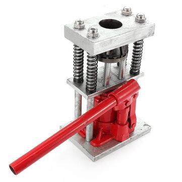 Manual Benchtop Hydraulic Bottle Jack Hose Crimper Hydraulic Hose Crimper Plier 2T