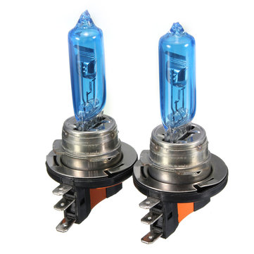 H15 55W 6000K Car Xenon Bulbs Headlight HID DRL Replacement Bulbs for AUDI VW GOLF