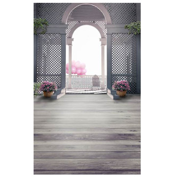 Vinyl Palace Gate Photography Backdrop Photo Background Studio Equipment